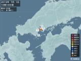 2019年07月01日10時10分頃発生した地震