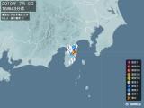 2019年07月05日16時43分頃発生した地震