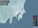 2019年07月19日14時19分頃発生した地震