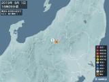 2019年09月01日16時09分頃発生した地震