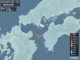 2019年12月01日07時35分頃発生した地震