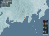 2019年12月20日14時09分頃発生した地震