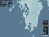 2019年12月27日03時09分頃発生した地震