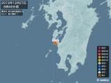 2019年12月27日06時46分頃発生した地震