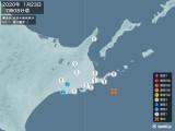 2020年01月23日07時08分頃発生した地震
