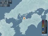2020年02月05日04時10分頃発生した地震