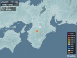 2020年07月10日06時24分頃発生した地震
