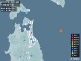 2020年07月12日18時32分頃発生した地震