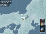 2020年12月24日03時18分頃発生した地震