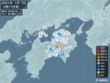 2021年01月07日04時17分頃発生した地震
