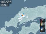 2021年02月21日00時06分頃発生した地震
