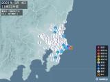 2021年03月04日11時22分頃発生した地震