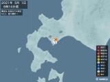 2021年05月01日06時14分頃発生した地震