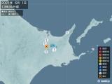 2021年05月01日13時34分頃発生した地震
