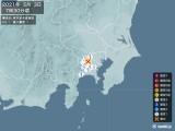 2021年05月03日07時30分頃発生した地震