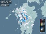 2021年05月06日09時16分頃発生した地震