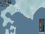 2021年05月07日00時15分頃発生した地震