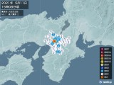 2021年05月11日15時08分頃発生した地震