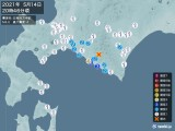 2021年05月14日20時46分頃発生した地震
