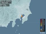 2021年06月27日08時47分頃発生した地震