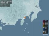 2021年07月04日22時31分頃発生した地震